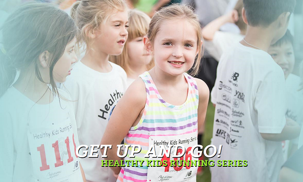 Healthy Kids running