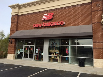 New Balance store in Richmond, Virginia