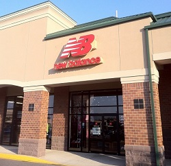 New Balance store in Christiana, Delaware