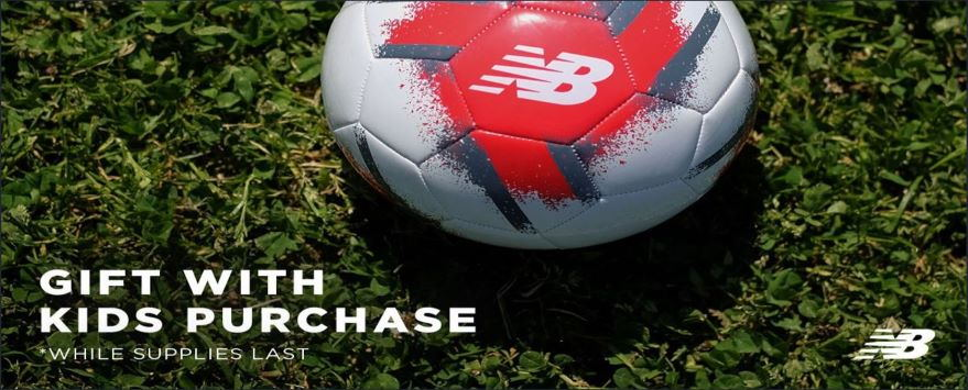 Free soccer ball promotion